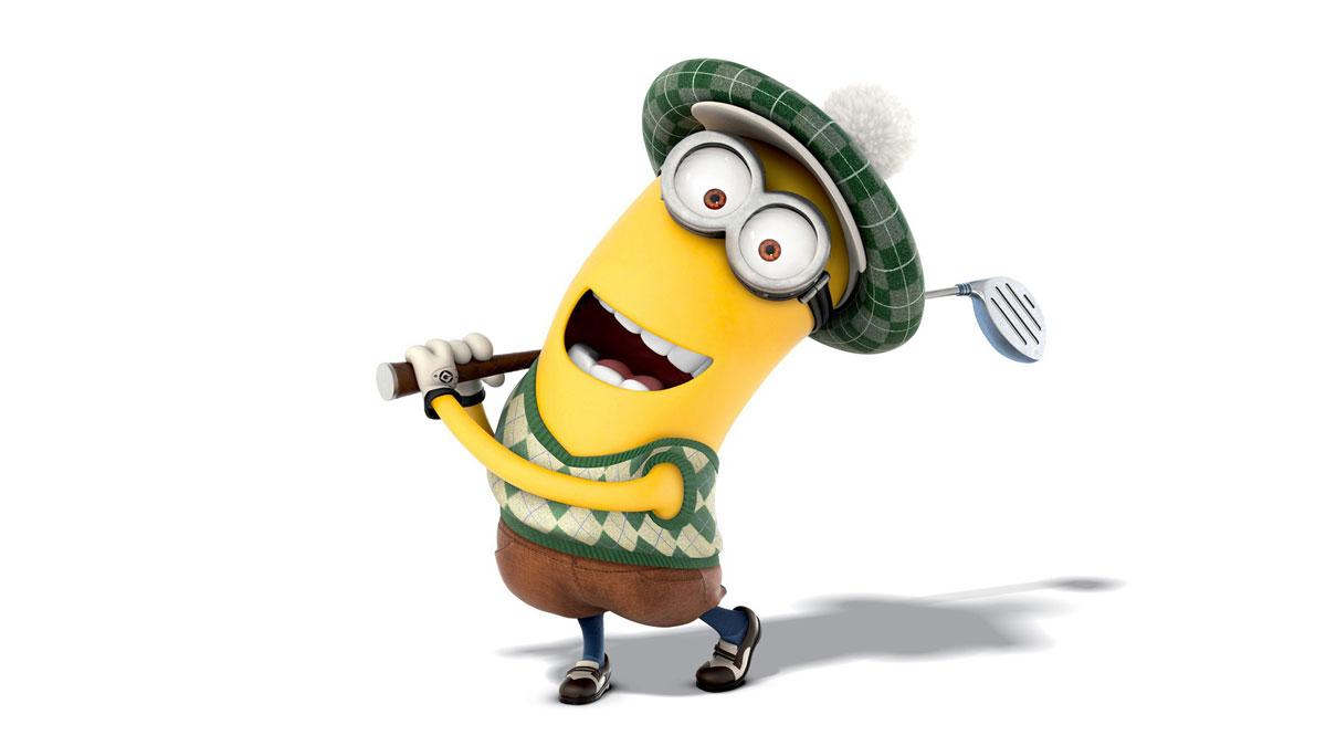 Minions-Golfer